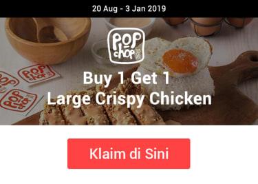 Promo Pop Chop Buy 1 Get 1