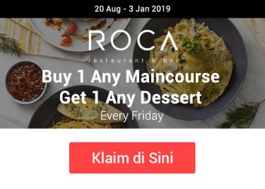 Promo Roca Buy 1 Get 1
