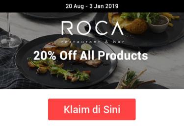 Promo Roca 20% Off