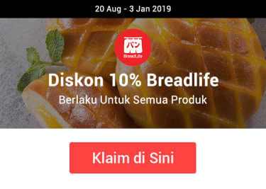 Promo Bread Life