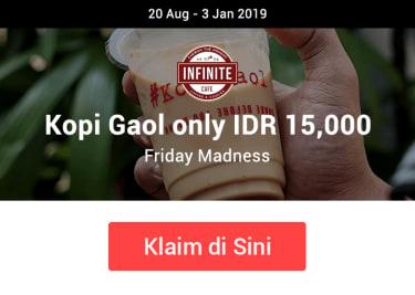 Promo Infinite Cafe