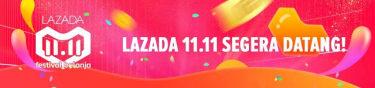 lazada 11.11 festival belanja