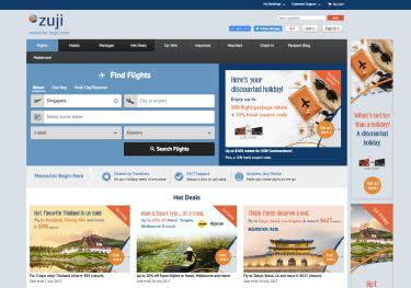 Zuji Homepage