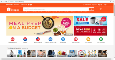 Shopee Deals and Trending Searches
