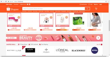 Shopee Product Listing